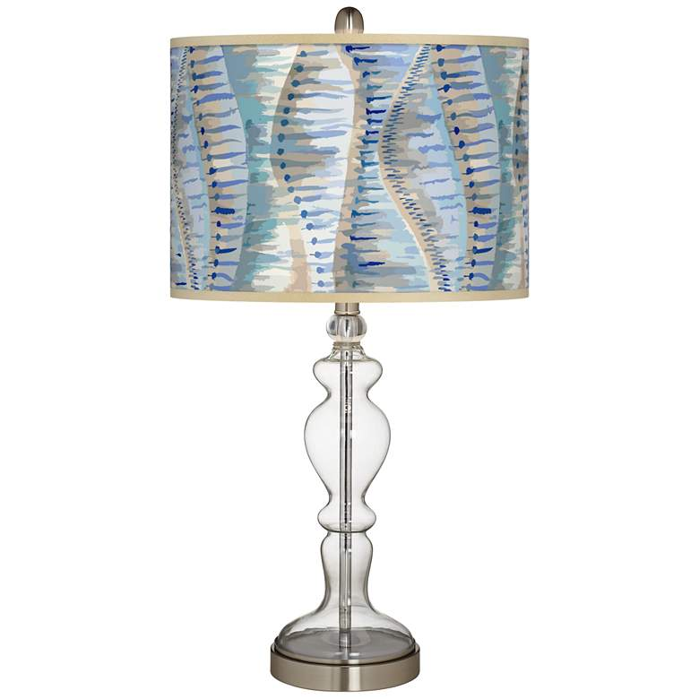 Siren Giclee Apothecary Clear Glass Table Lamp