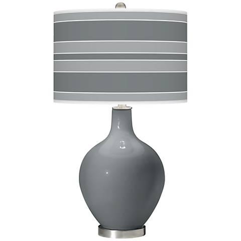 Software Bold Stripe Ovo Table Lamp