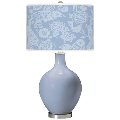 Blue Sky Aviary Ovo Table Lamp