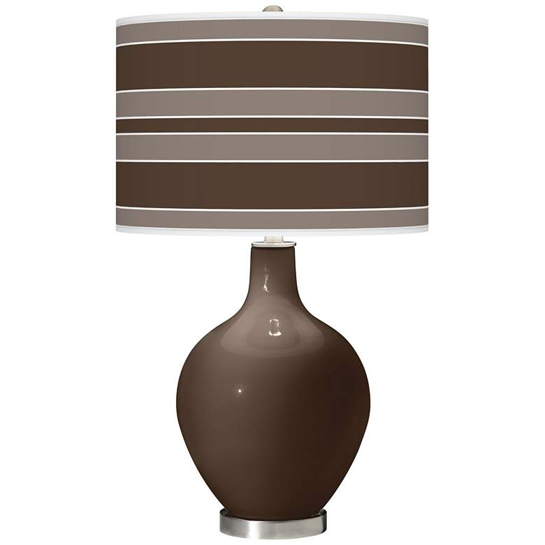Carafe Bold Stripe Ovo Table Lamp