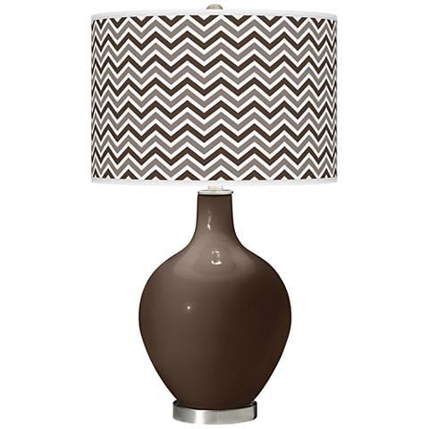 Carafe Narrow Zig Zag Ovo Table Lamp