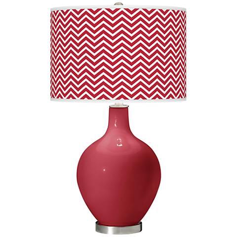 Samba Narrow Zig Zag Ovo Table Lamp