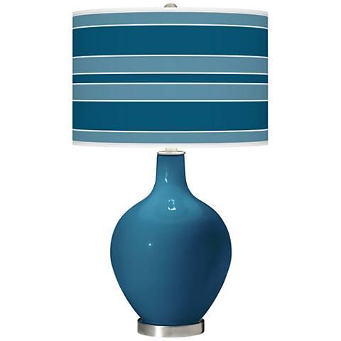 Bosporus Bold Stripe Ovo Table Lamp