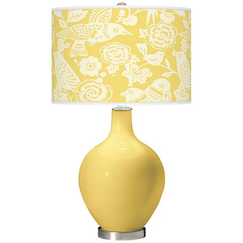 Daffodil Aviary Ovo Table Lamp