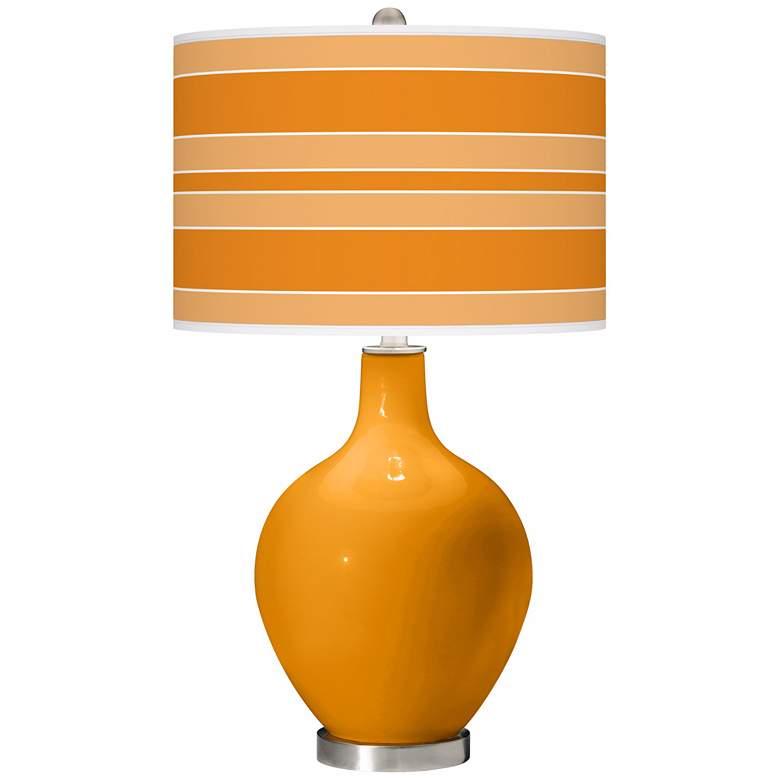 Carnival Bold Stripe Ovo Table Lamp