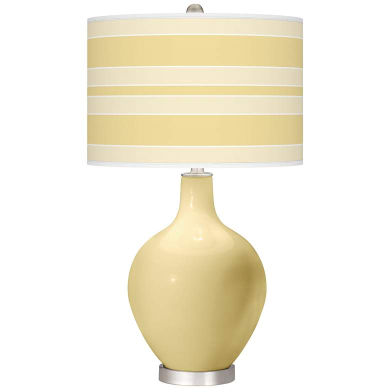Butter Up Bold Stripe Ovo Table Lamp