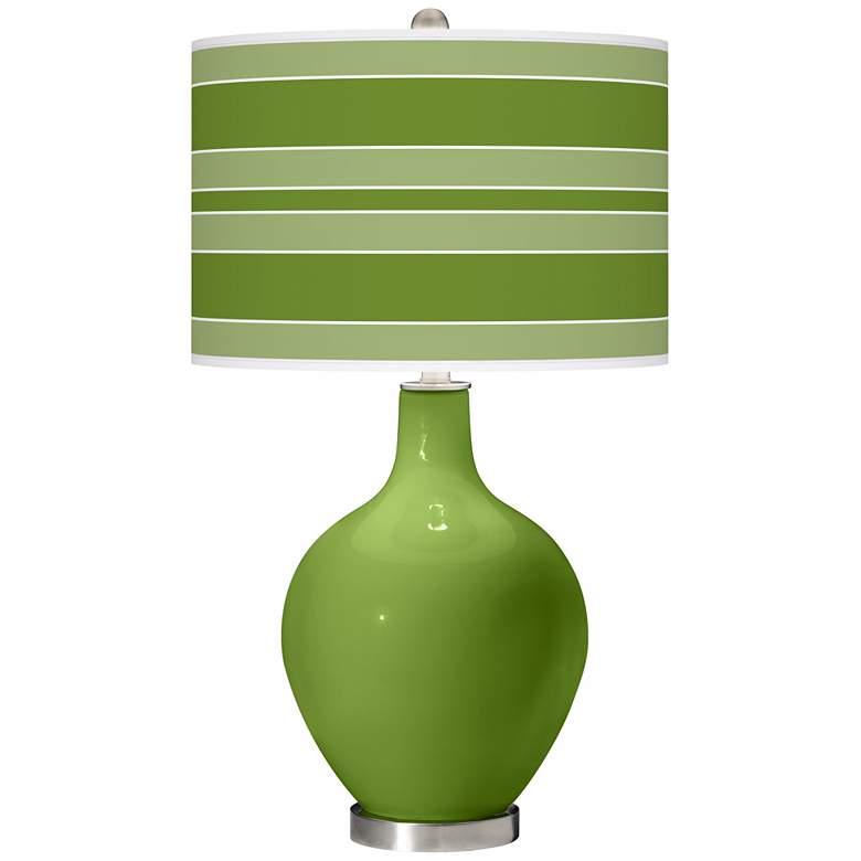 Gecko Bold Stripe Ovo Table Lamp