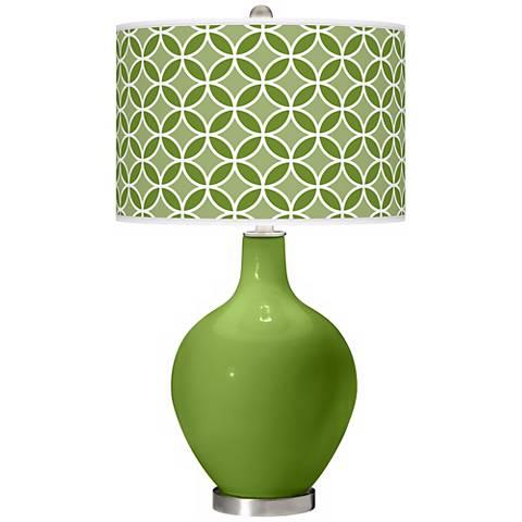 Gecko Circle Rings Ovo Table Lamp