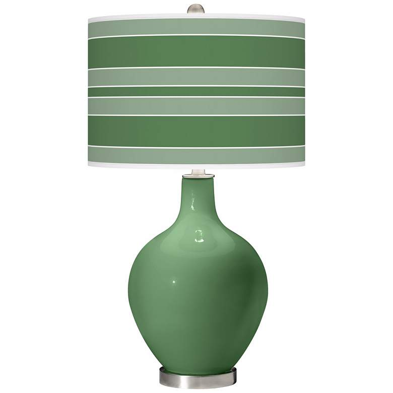 Garden Grove Bold Stripe Ovo Table Lamp