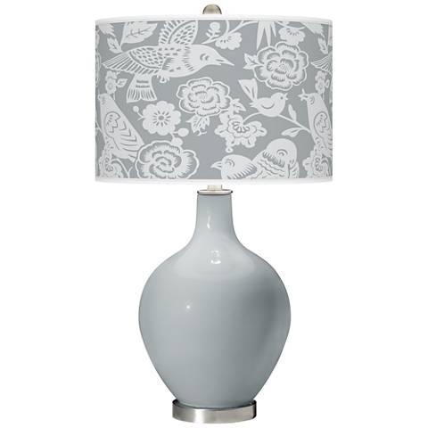 Uncertain Gray Aviary Ovo Table Lamp