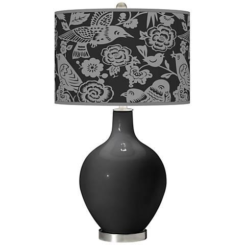 Tricorn Black Aviary Ovo Table Lamp