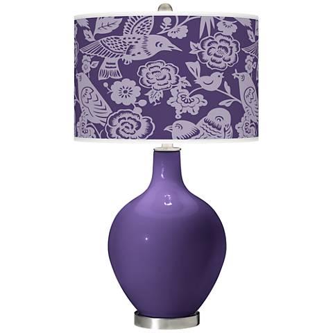 Izmir Purple Aviary Ovo Table Lamp