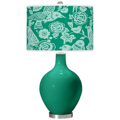 Leaf Aviary Ovo Table Lamp