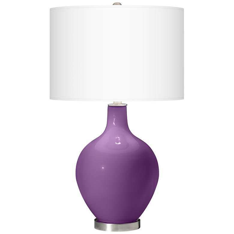 Passionate Purple Ovo Table Lamp