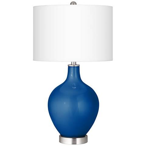 Ocean Metallic Ovo Table Lamp