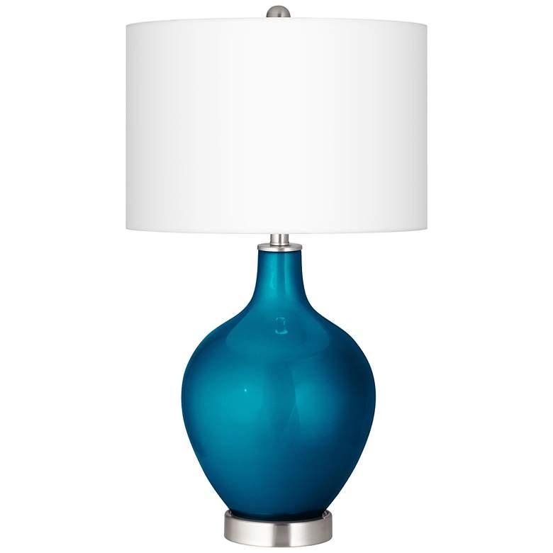 Baja Metallic Ovo Table Lamp