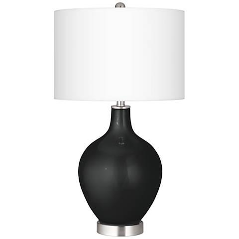 Caviar Metallic Ovo Table Lamp