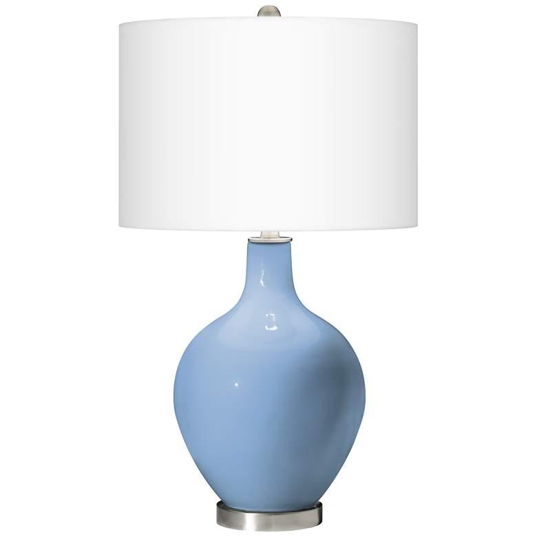 Placid Blue Ovo Table Lamp