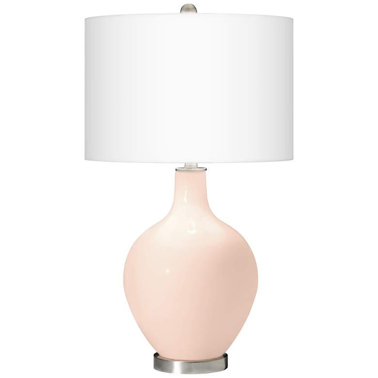 Linen Ovo Table Lamp