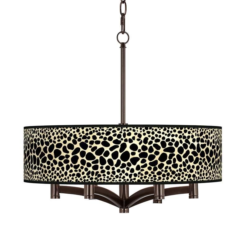 Leopard Ava 6-Light Bronze Pendant Chandelier