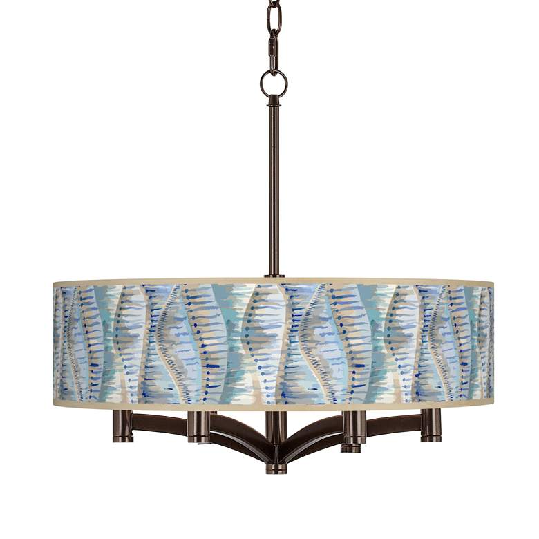 Siren Ava 6-Light Bronze Pendant Chandelier