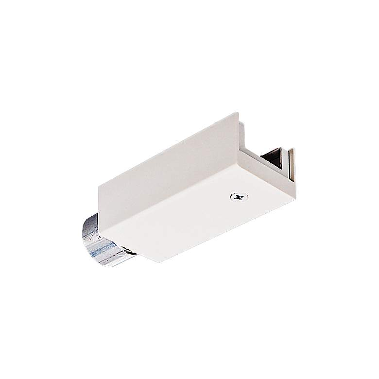 Juno Trac 12 White TL34 Track Lighting Conduit Feed