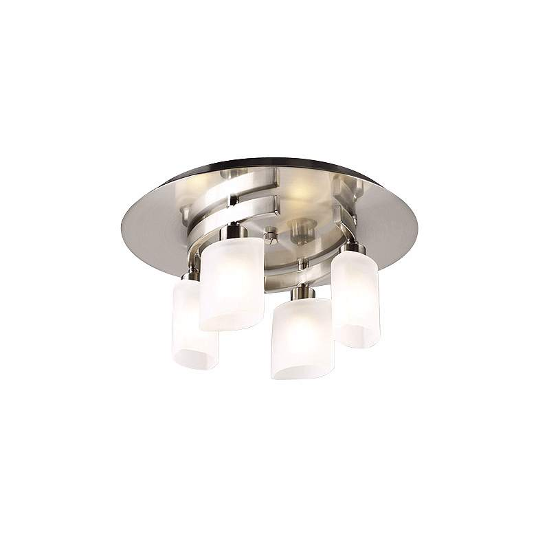 """Contemporary Cluster 13"""" Wide Ceiling Light Fixture"""
