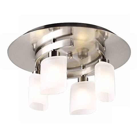 "Contemporary Cluster 13"" Wide Ceiling Light Fixture"