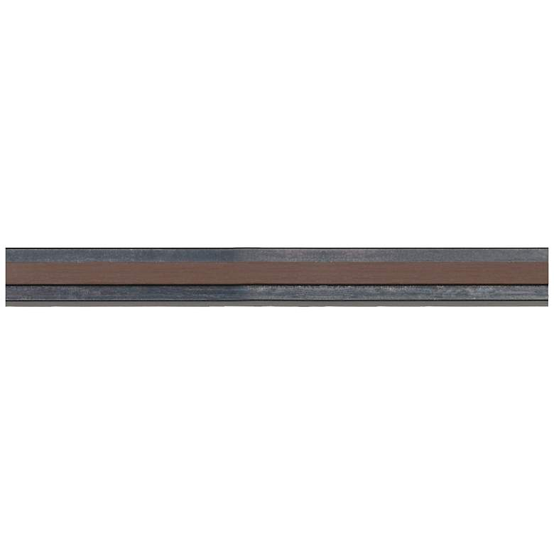 "Tech Lighting Monorail 96"" Long Antique Bronze Straight Rail"
