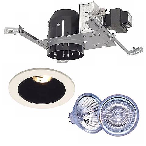 """4"""" Juno IC New Construction Housing with BlackTrim and Bulb"""
