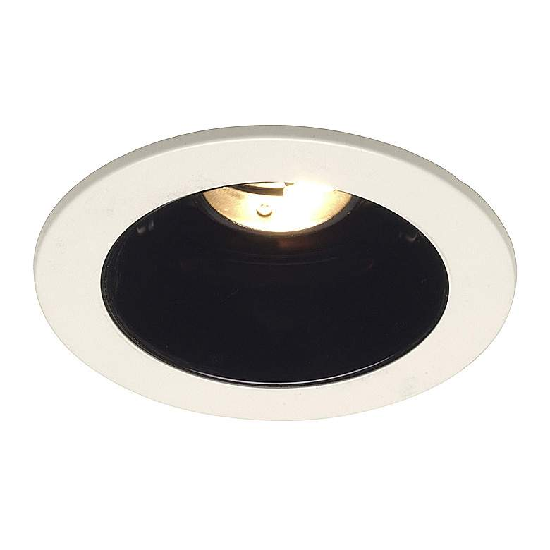 "Juno 4"" Low Voltage Black Alzak Recessed Light"