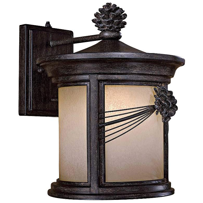 "Abbey Lane 15"" High Outdoor Wall Light by Minka Lavery"