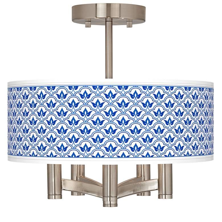 Arabella Ava 5-Light Nickel Ceiling Light