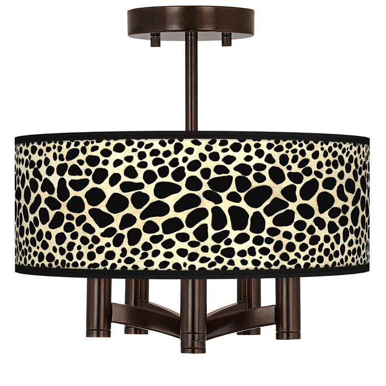 Leopard Ava 5-Light Bronze Ceiling Light