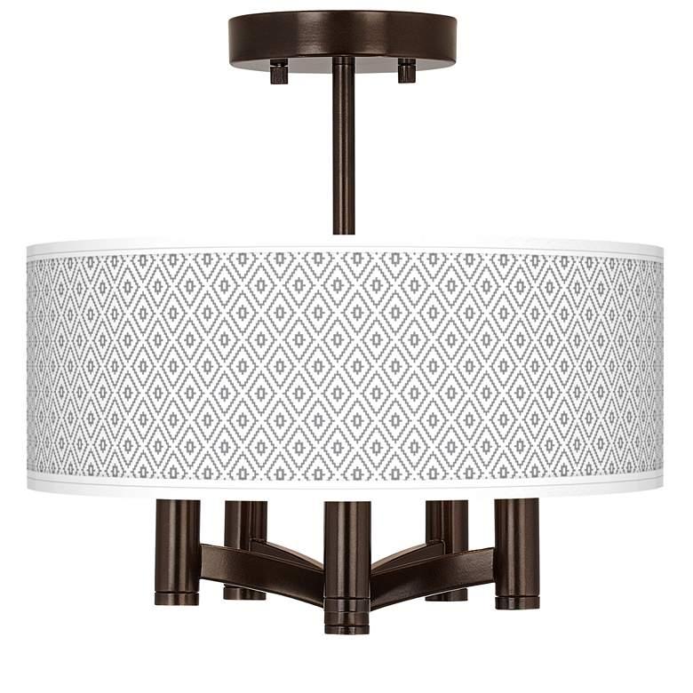 Diamonds Ava 5-Light Bronze Ceiling Light