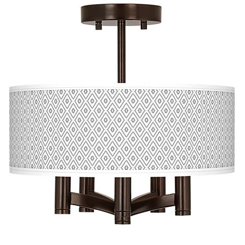 Diamonds Ava 5-Light Bronze Ceiling Light