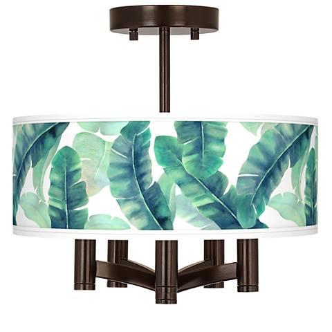 Guinea Ava 5-Light Bronze Ceiling Light