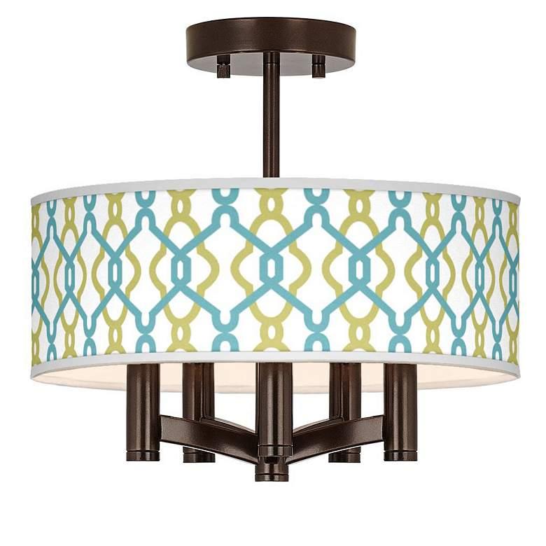 Hyper Links Ava 5-Light Bronze Ceiling Light