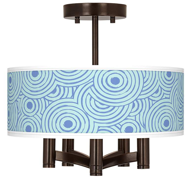 Circle Daze Ava 5-Light Bronze Ceiling Light