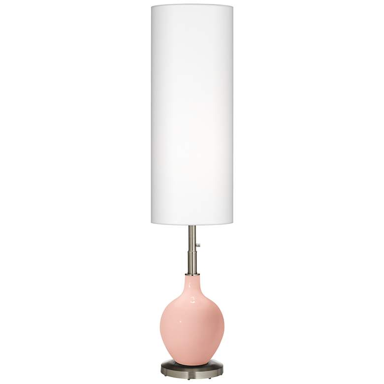 Rose Pink Ovo Floor Lamp