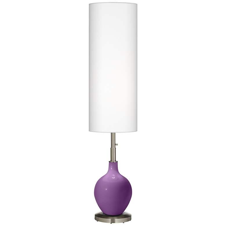 Pionate Purple Ovo Floor Lamp