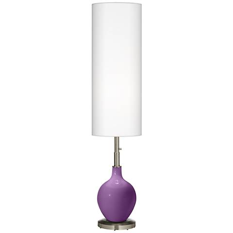 Passionate Purple Ovo Floor Lamp