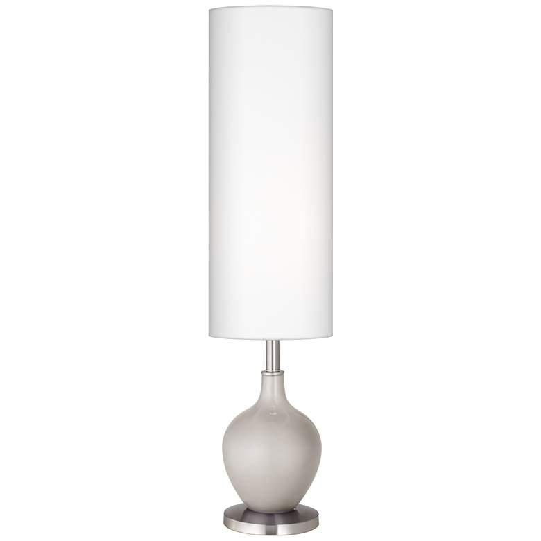 Silver Lining Metallic Ovo Floor Lamp