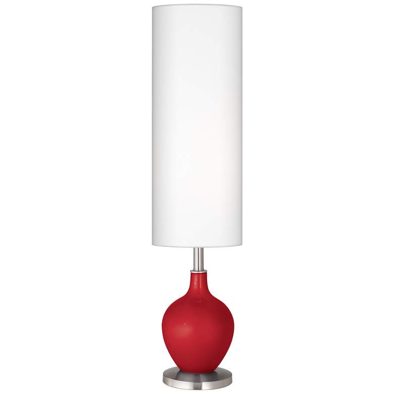 Sangria Metallic Ovo Floor Lamp