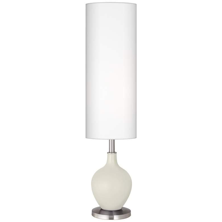 Vanilla Metallic Ovo Floor Lamp