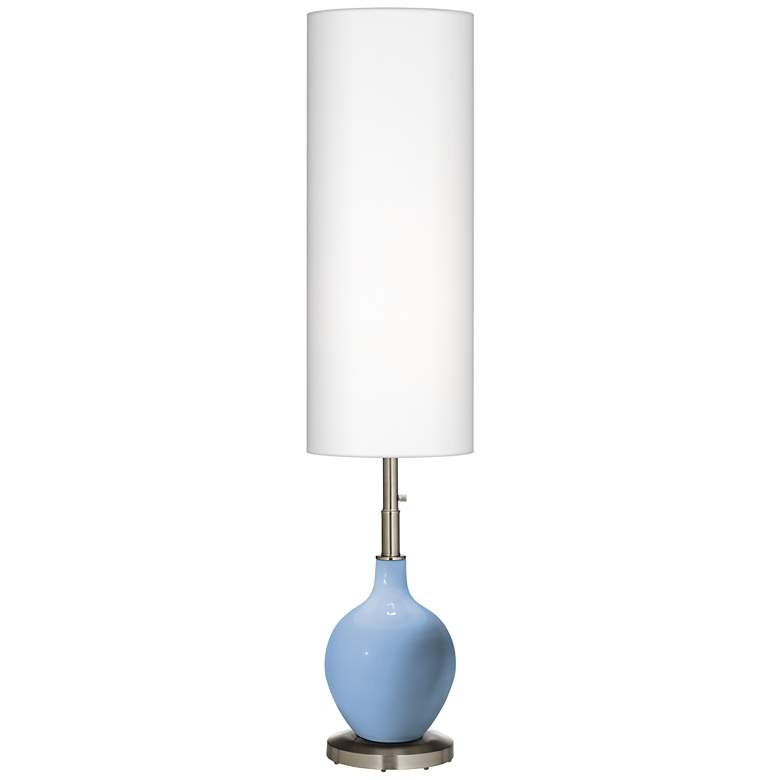 Placid Blue Ovo Floor Lamp