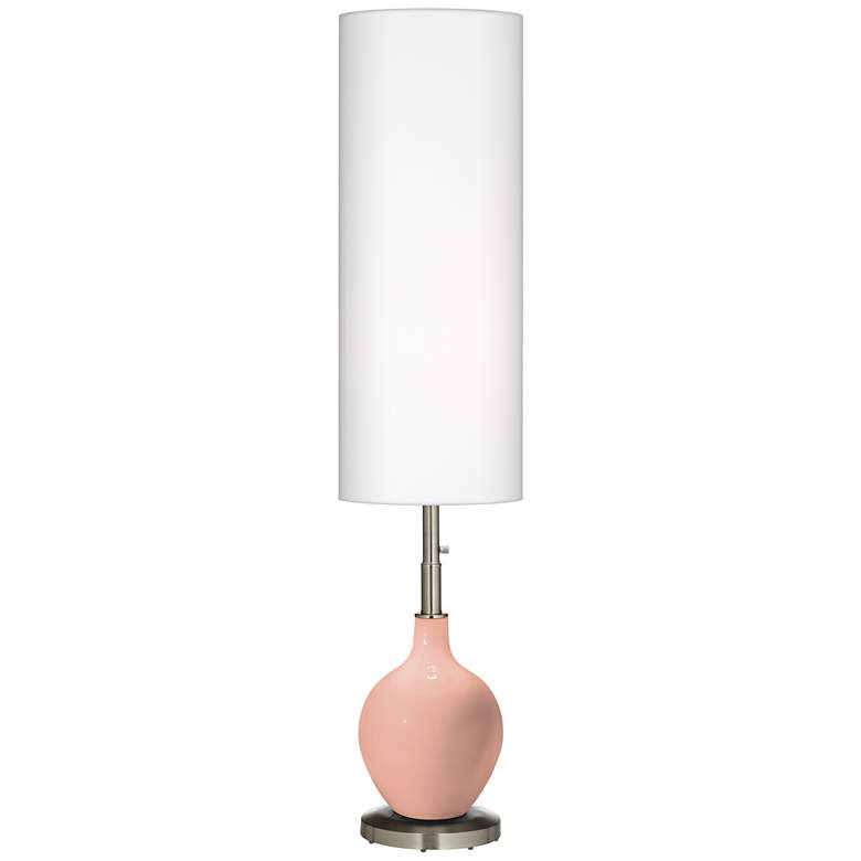 Mellow Coral Ovo Floor Lamp