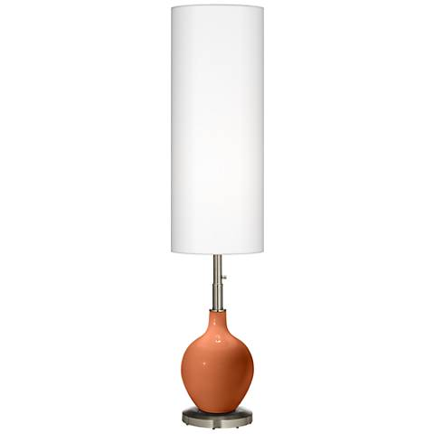 Robust Orange Ovo Floor Lamp