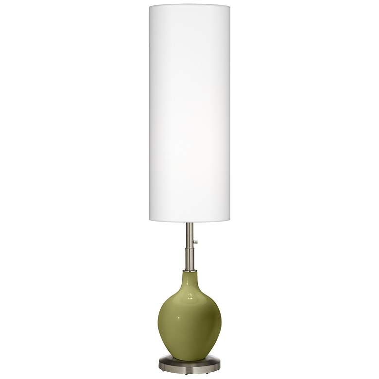 Rural Green Ovo Floor Lamp