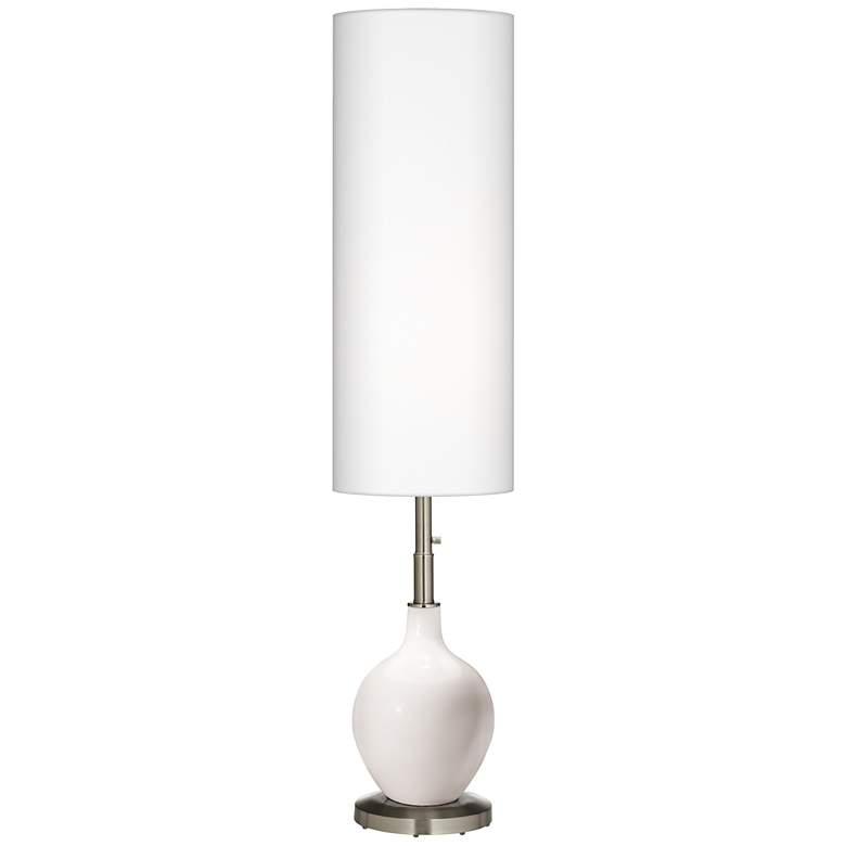Smart White Ovo Floor Lamp